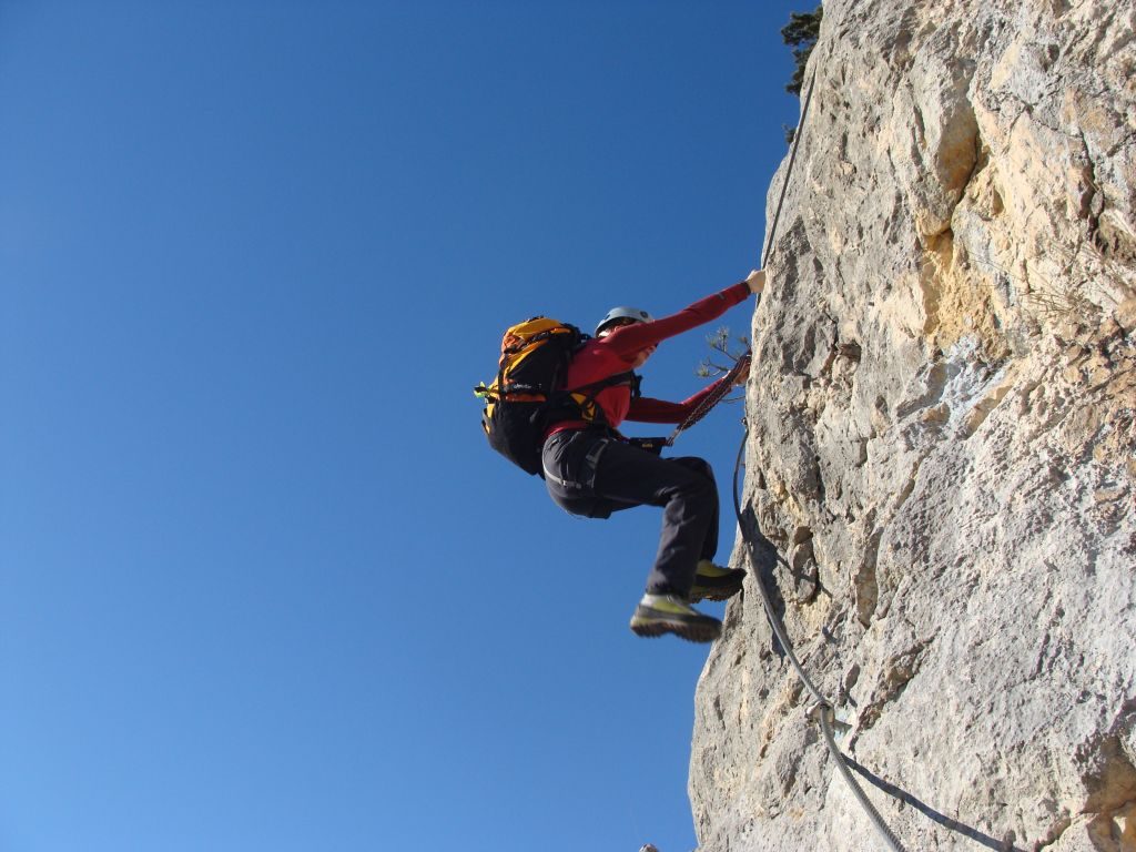 Hohe Wand Klettersteig : Fotogalerie tourfotos fotos zur klettersteig tour