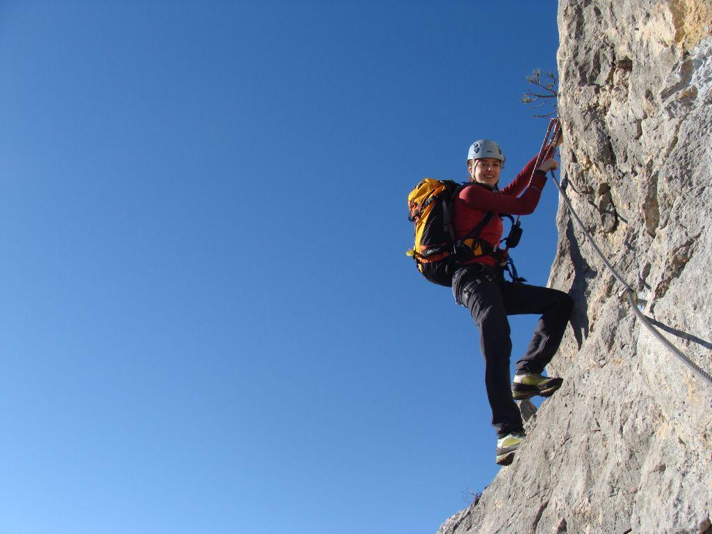 Hohe Wand Klettersteig : Blutspur klettersteig bergsteigen