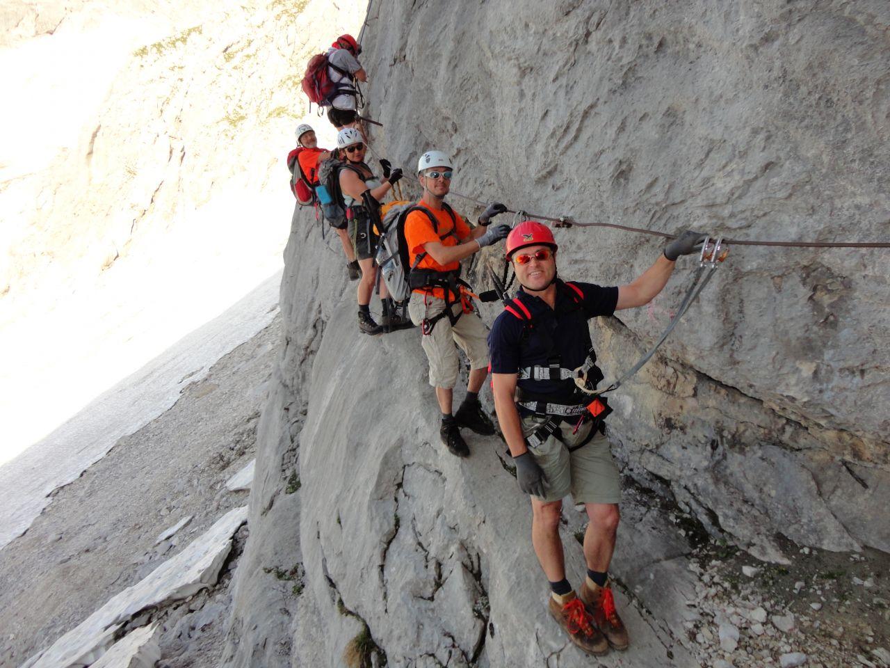 Klettersteig Priel : Gr. priel alpenverein