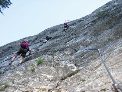 Franz Josef Klettersteig : Kaiser franz joseph klettersteig alpenverein