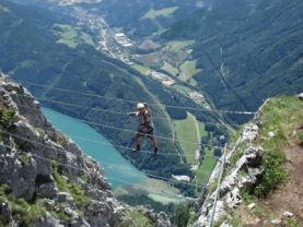 Klettersteig Leopoldsteinersee : Klettersteige kaiser franz josef klettersteig km bergwelten