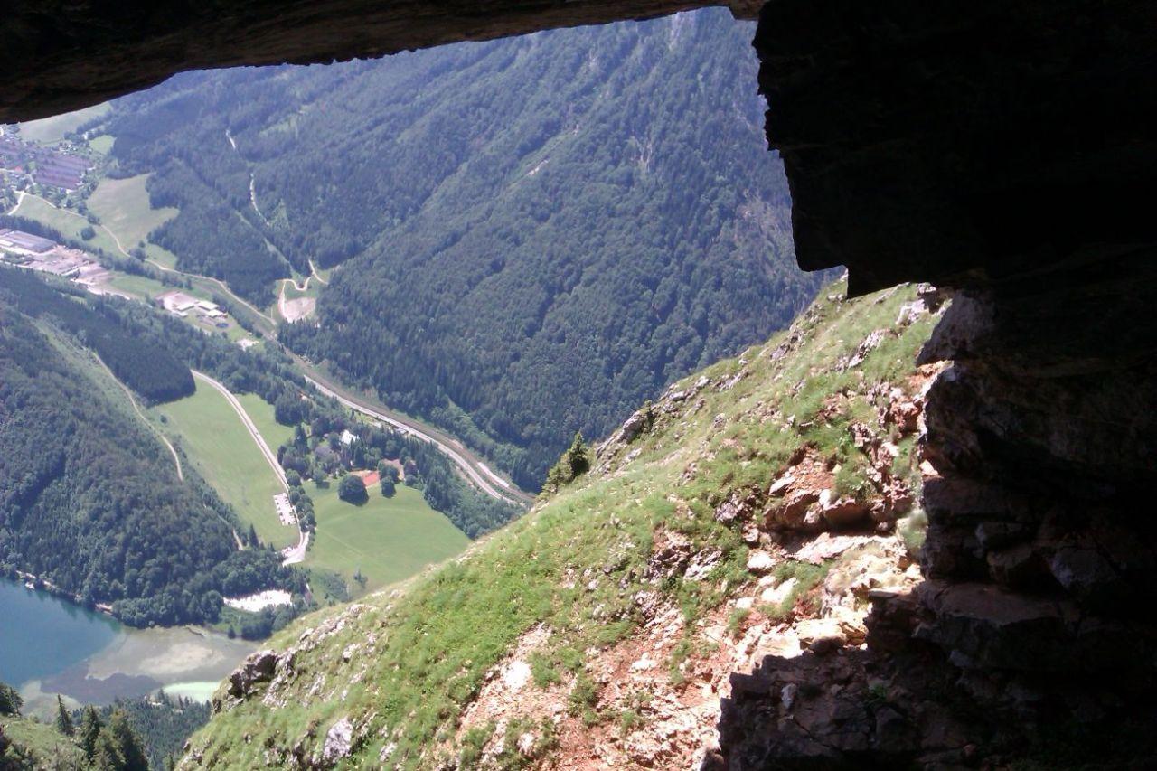 Klettersteig Eisenerz : Kaiser franz joseph klettersteig hochblaser hochschwab