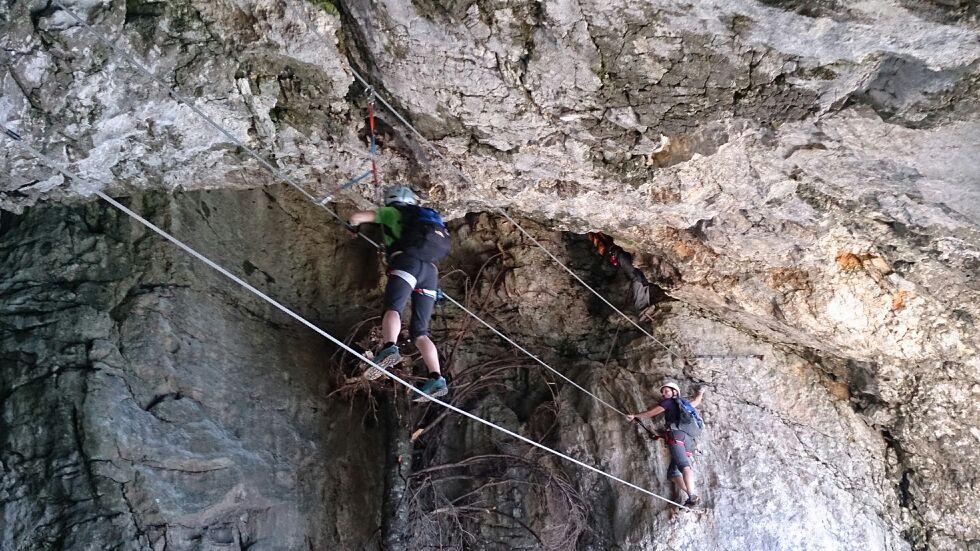 Klettersteig Eisenerz : Pfaffenstein klettersteig foto bild sport berg und