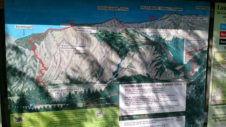 Klettersteig Map : Klettersteig in eisenerz alpenverein