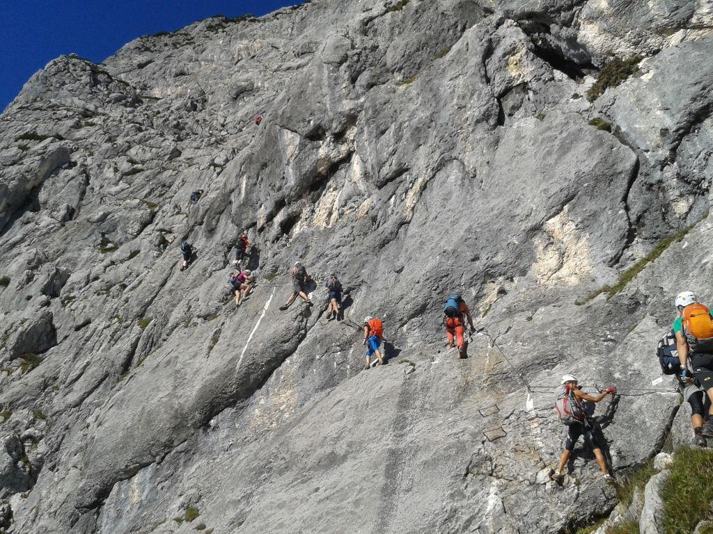 Klettersteig Hochthron : Berchtesgardner hochthron alpenverein