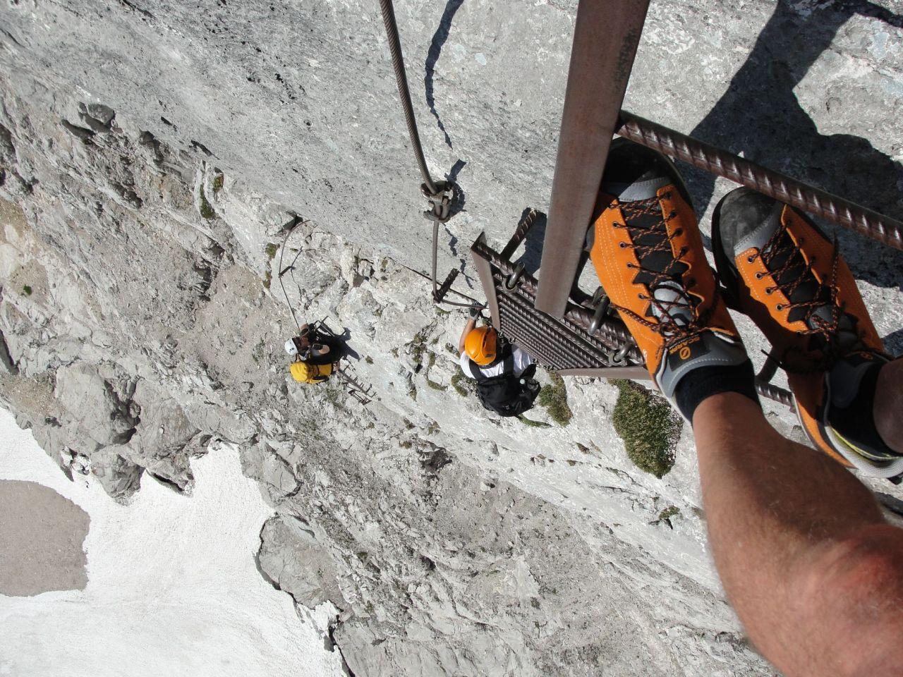 Klettersteig Priel : 2013 07 27 28 priel klettersteig alpenverein