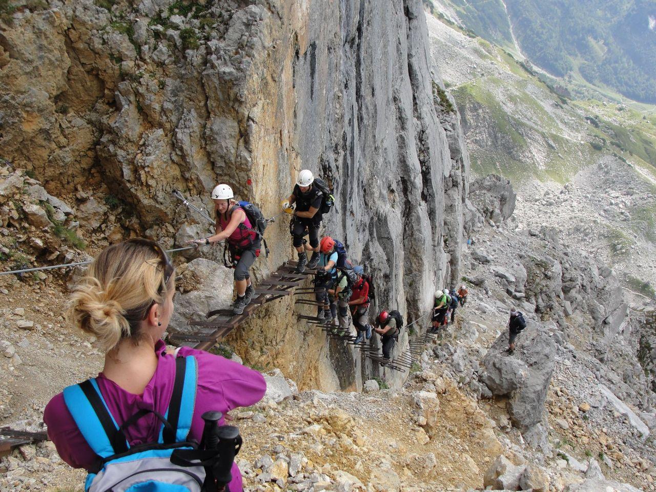 Klettersteig Wilder Kaiser : 2013 08 29 wilder kaiser klettersteige alpenverein