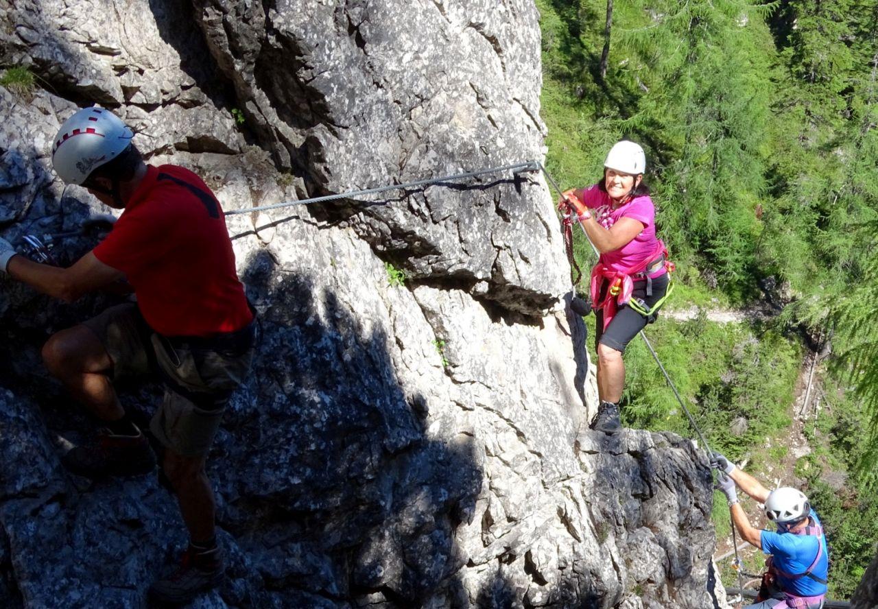 Klettersteig Verborgene Welt : Zwei tägige klettersteigtour in den lienzer dolomiten
