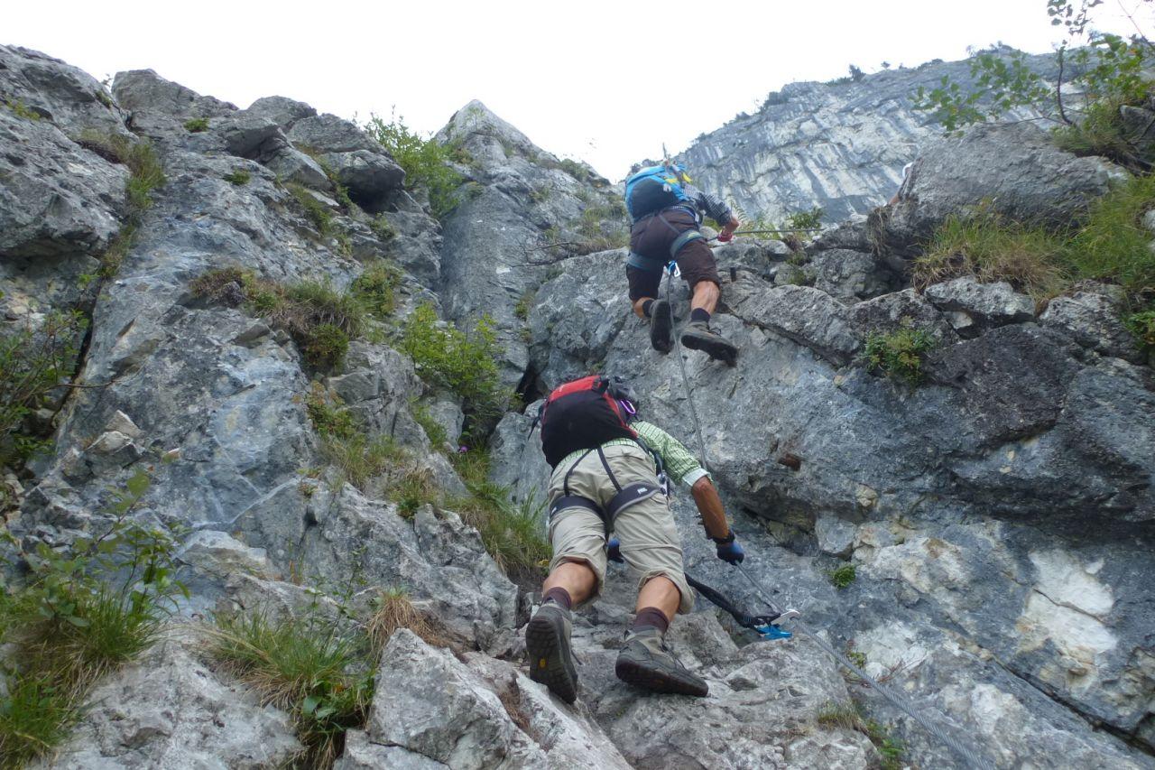 Klettersteig Mahdlgupf : Mahdlgupf klettersteig alpenverein