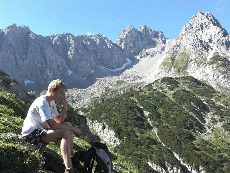 Klettersteig Tajakante : Klettersteig tajakante alpenverein