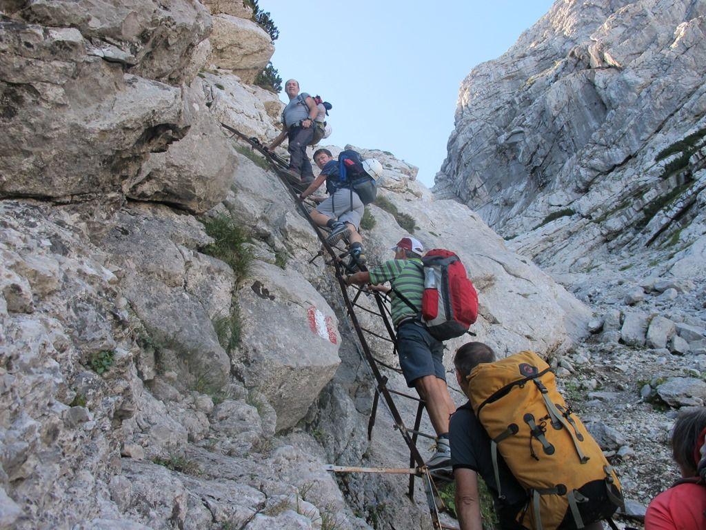 Klettersteig Rax : Klettersteig auf den schermberg und rax alpenverein
