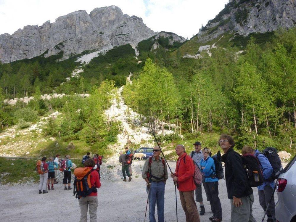 Klettersteig Julische Alpen : Mangart m italienischer slowenischer klettersteig