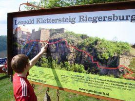 Klettersteig Riegersburg : Neueröffnung des leopold klettersteig riegersburg alpenverein