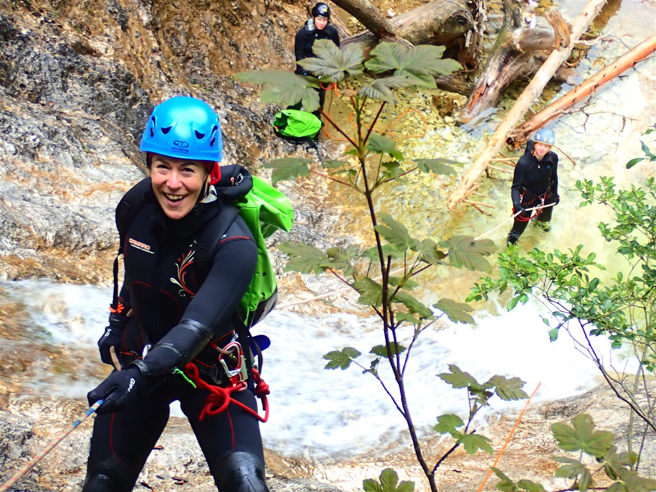 'Canyoning-Tageskurs'