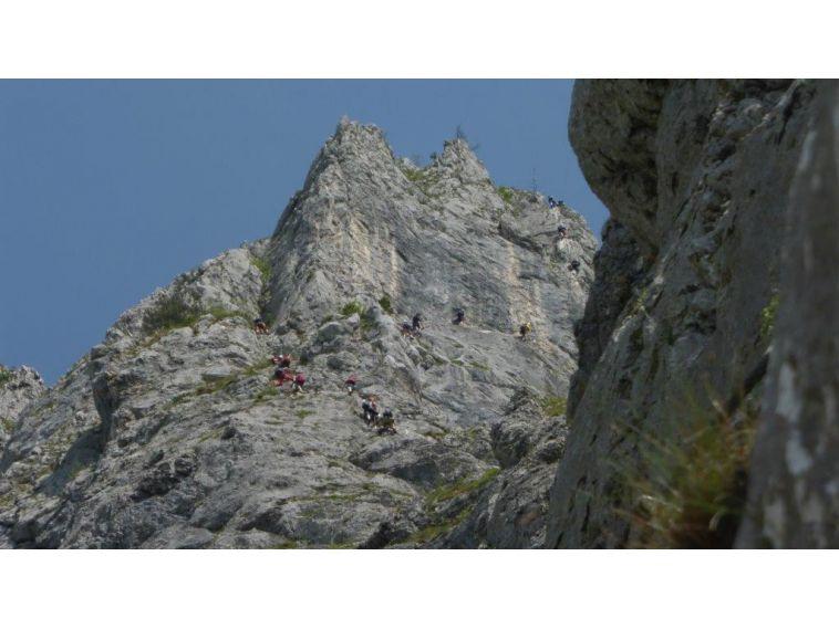 Franz Josef Klettersteig : 13.06.2015 kaiser franz josef klettersteig alpenverein