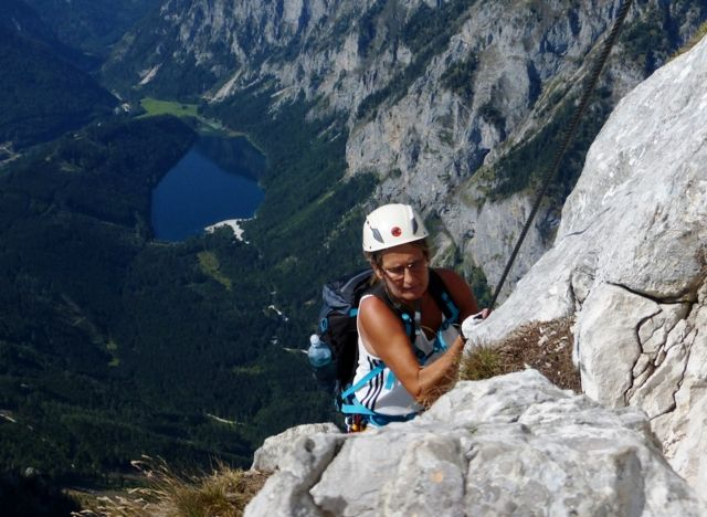 Eisenerzer Klettersteig : 12. september 2015 eisenerzer klettersteig alpenverein