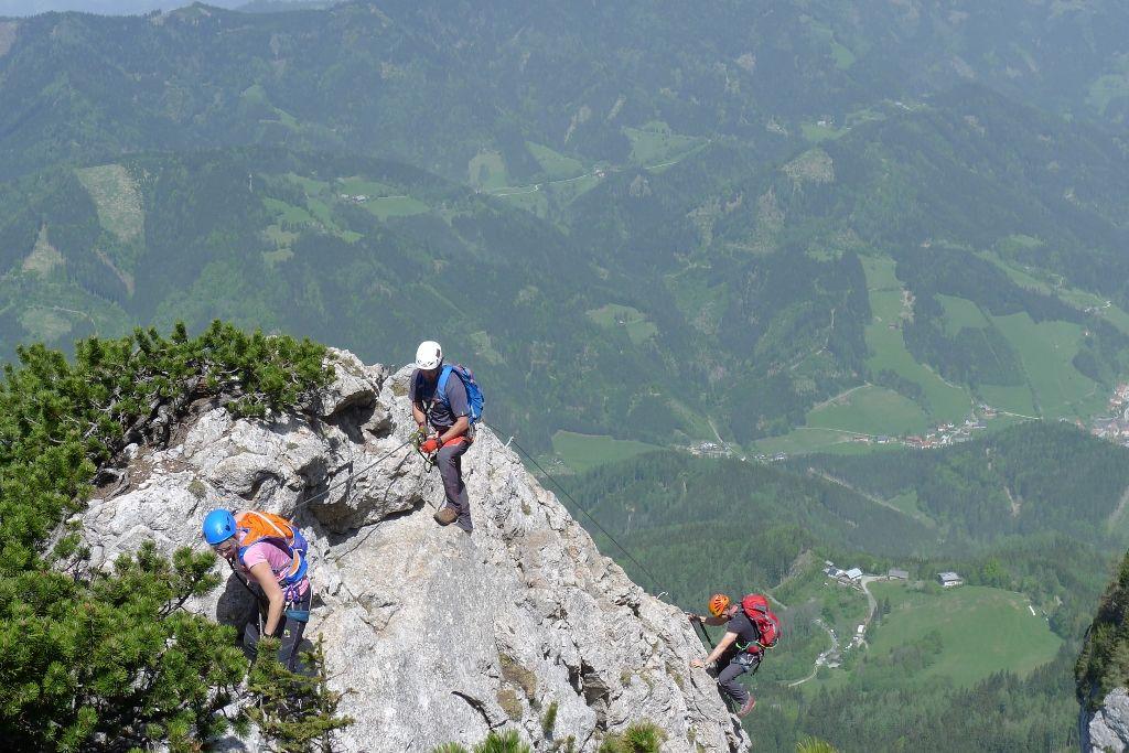Klettersteig Hochlantsch : Und april franz scheikl steig hochlantsch alpenverein