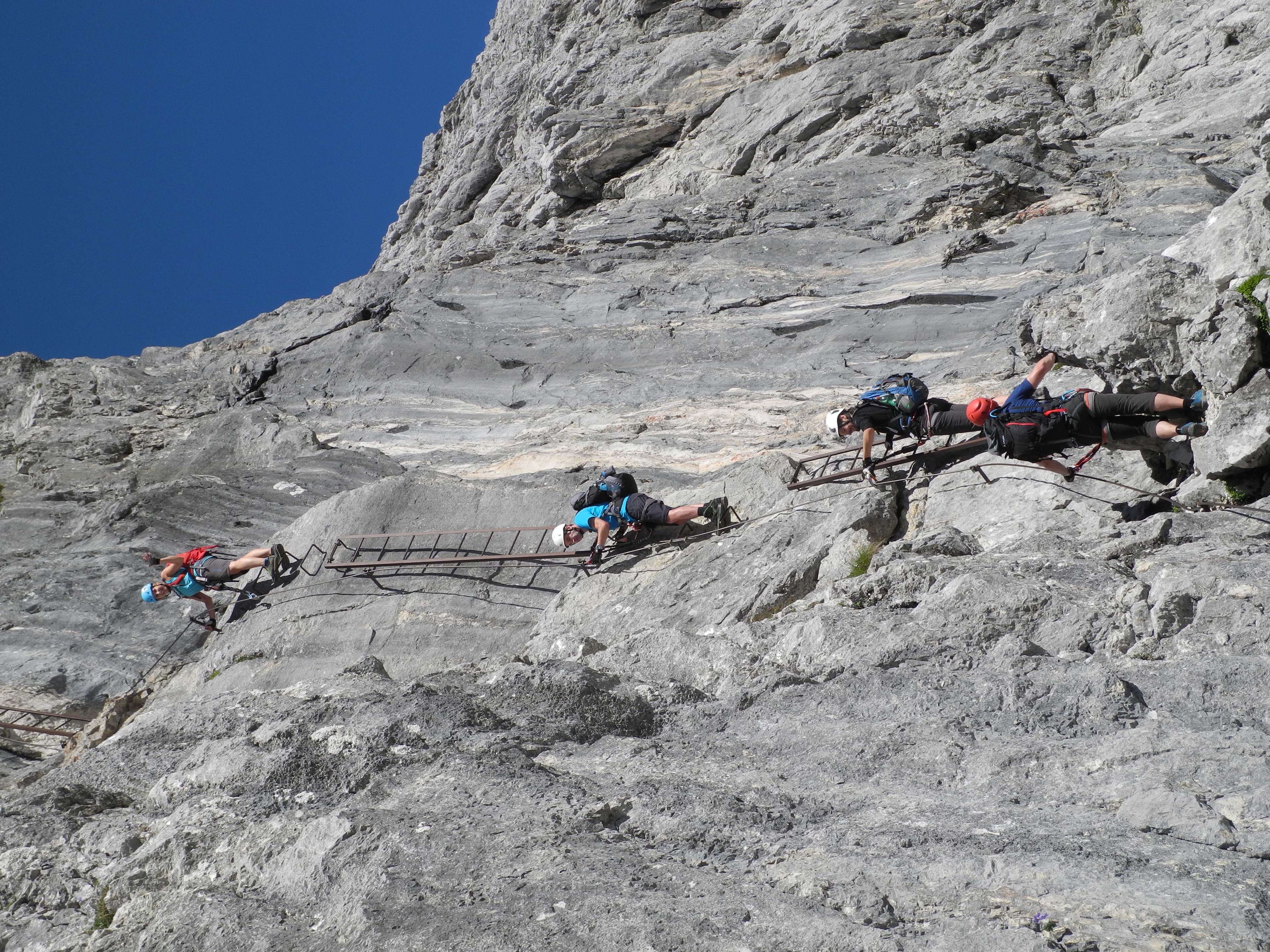 Klettersteig Priel : 2017 07 28 29 bert rinesch klettersteig auf den grossen priel