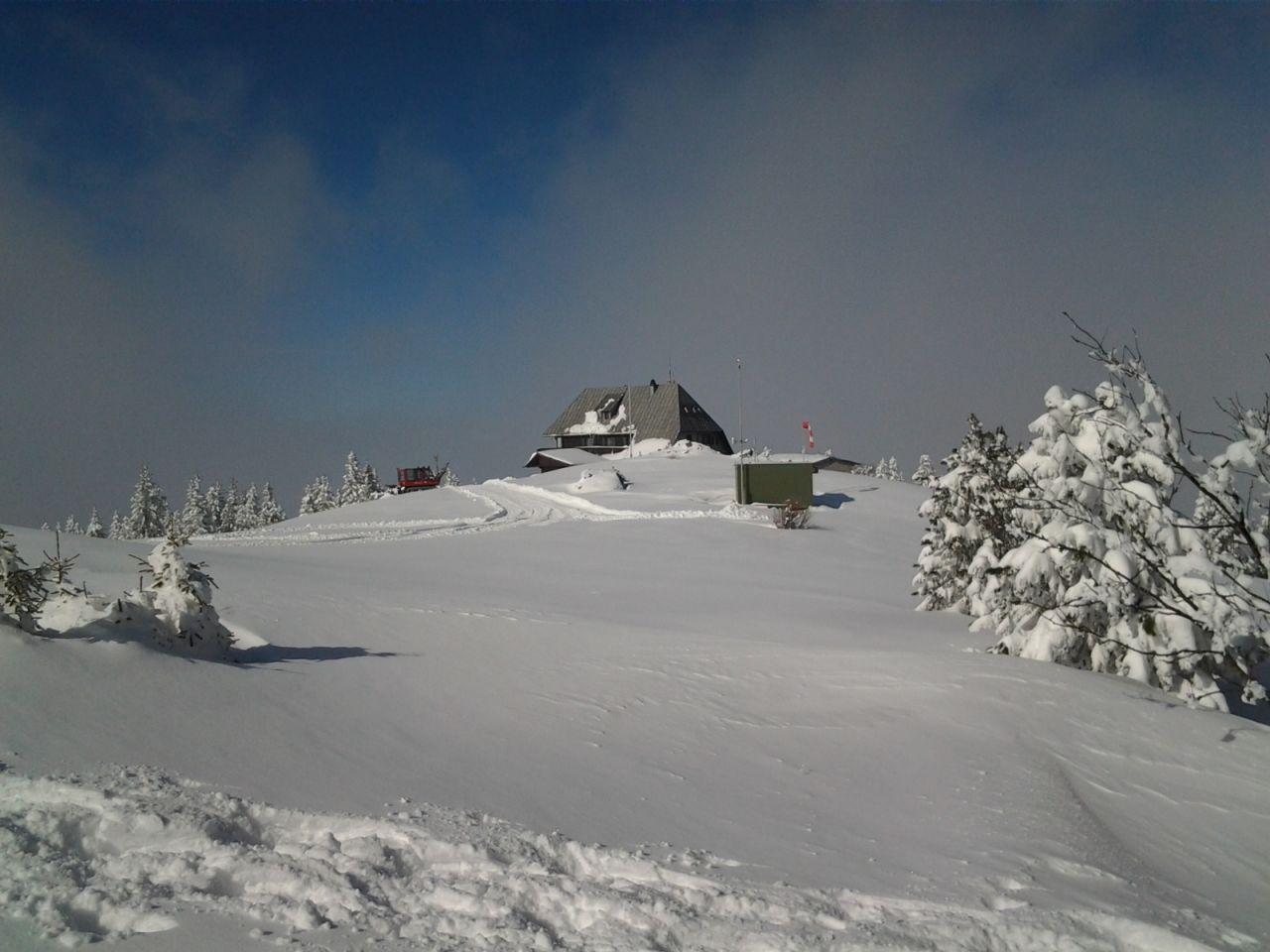 Schneeschuhwanderung aufs Rennfeld Alpenverein