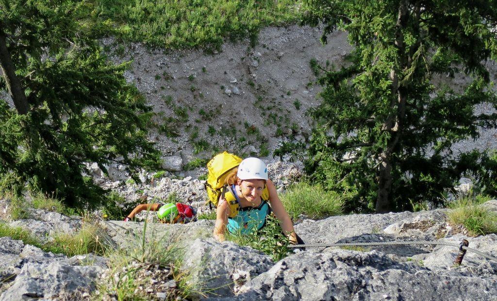 Klettersteig Leopoldsteinersee : 5. juli seemauer klettersteig alpenverein
