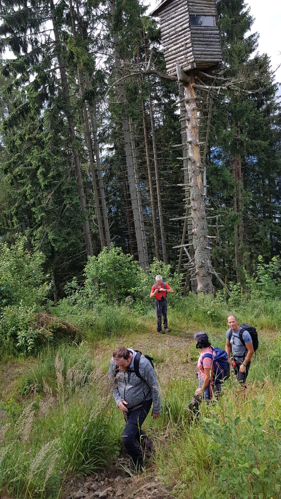 Von Pernegg aufs Rennfeld (13  Juli 2019) Alpenverein