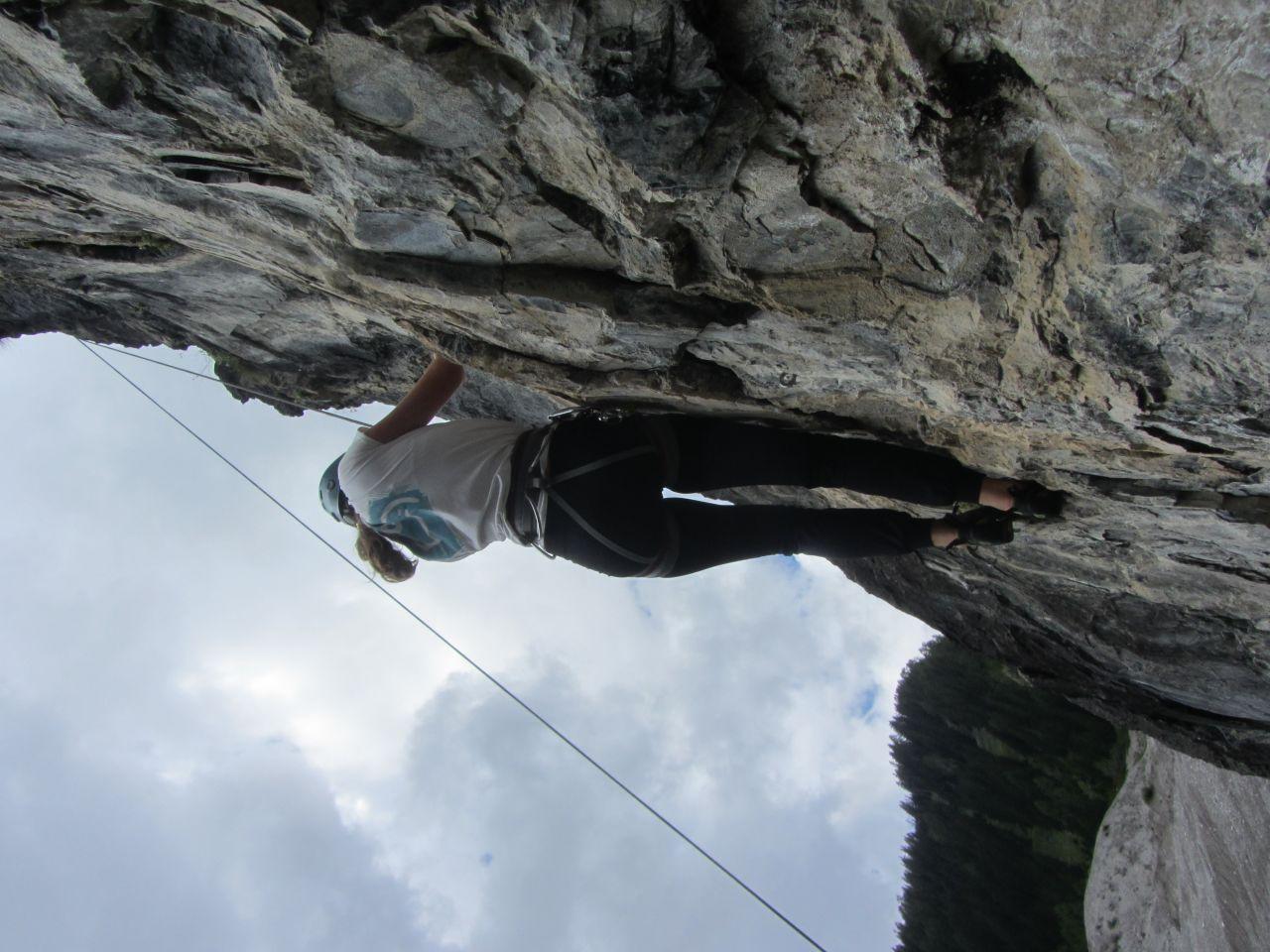 Klettersteig Englisch : Tagestour auf dem hindelanger klettersteig guiders