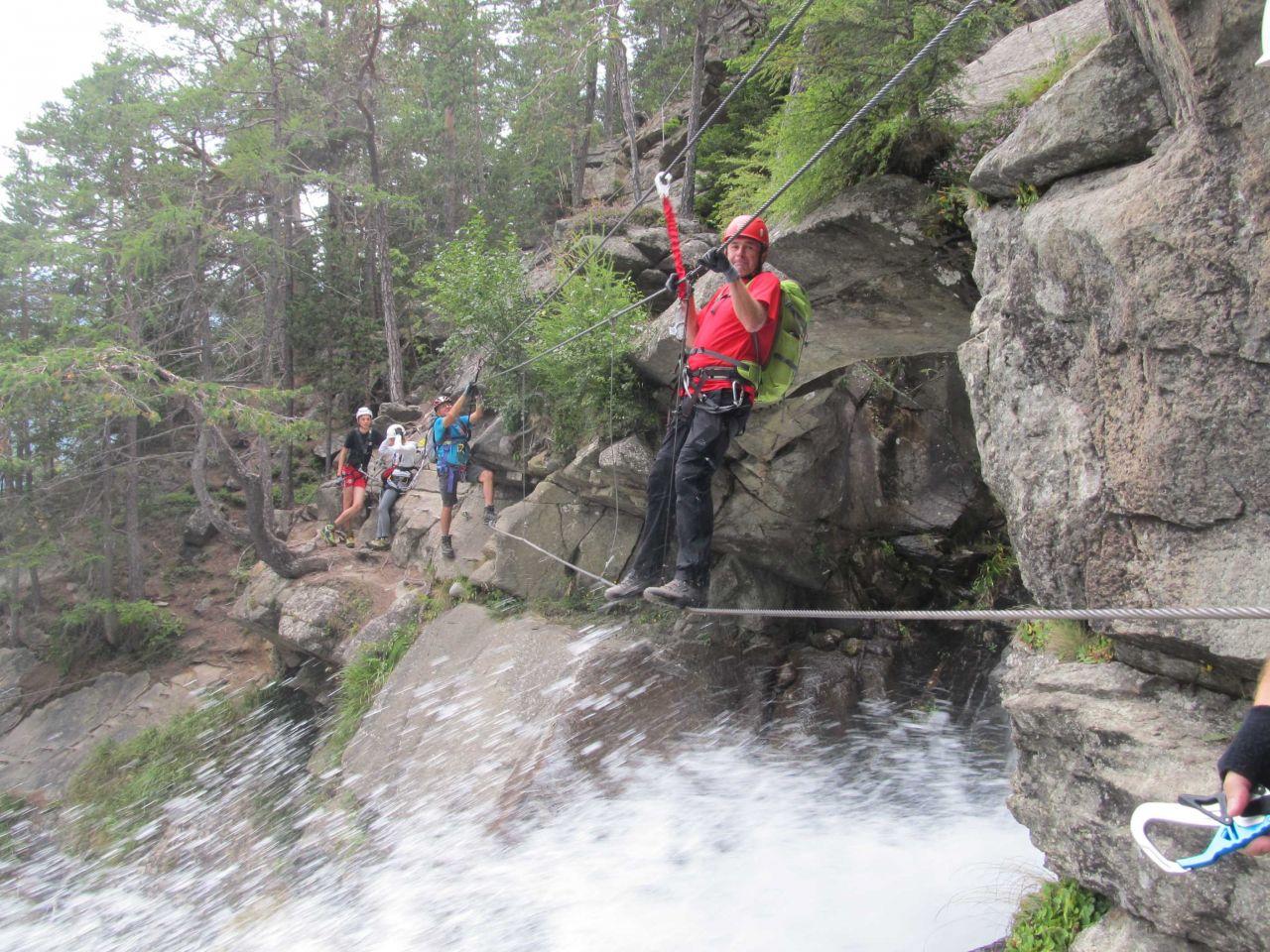 Klettersteig Umhausen : Gust umhausen stuibenfall Ötztal alpenverein