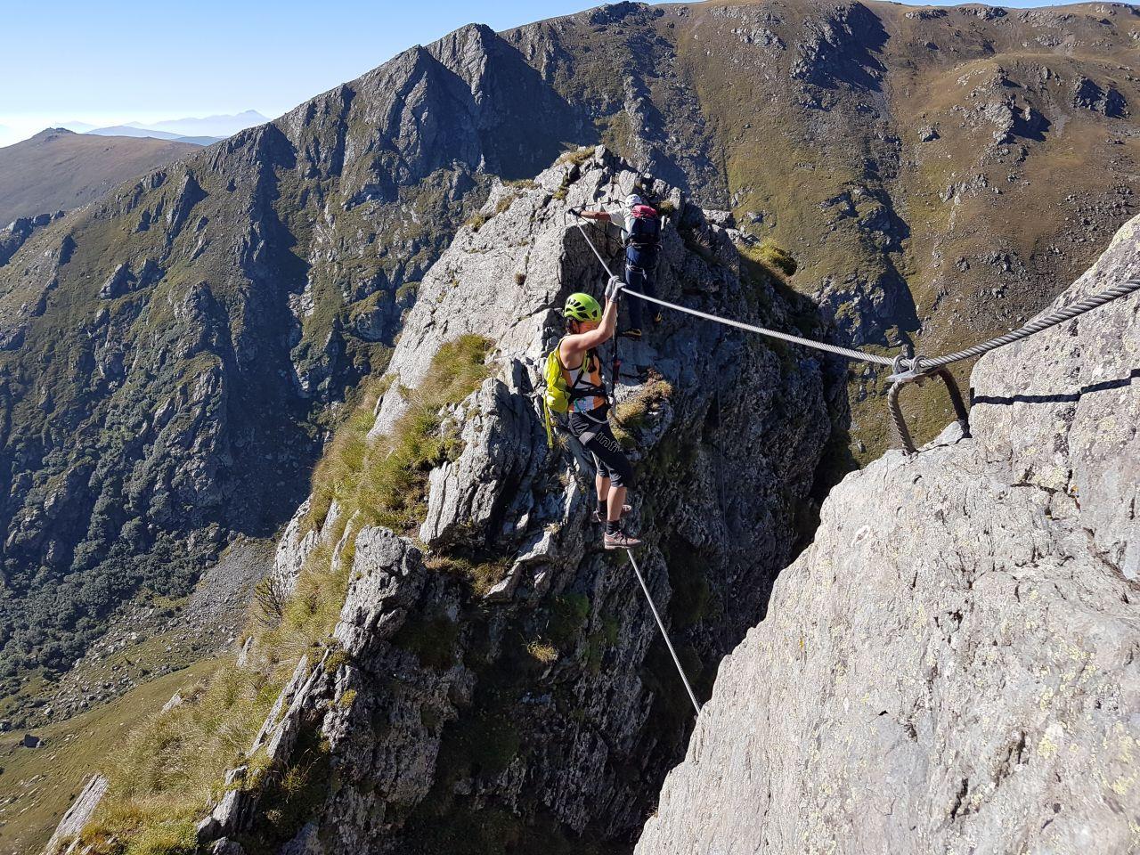 Klettersteig Kärnten : Falken klettersteig auf den falkert in kärnten alpenverein