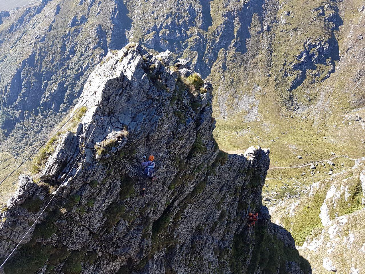 Klettersteig Falkert : Wandern falken klettersteig auf den falkert m tour