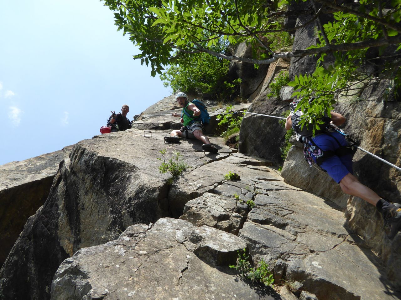 Klettersteig Naturns : Hoachwool klettersteig in naturns 13.6.2015 alpenverein