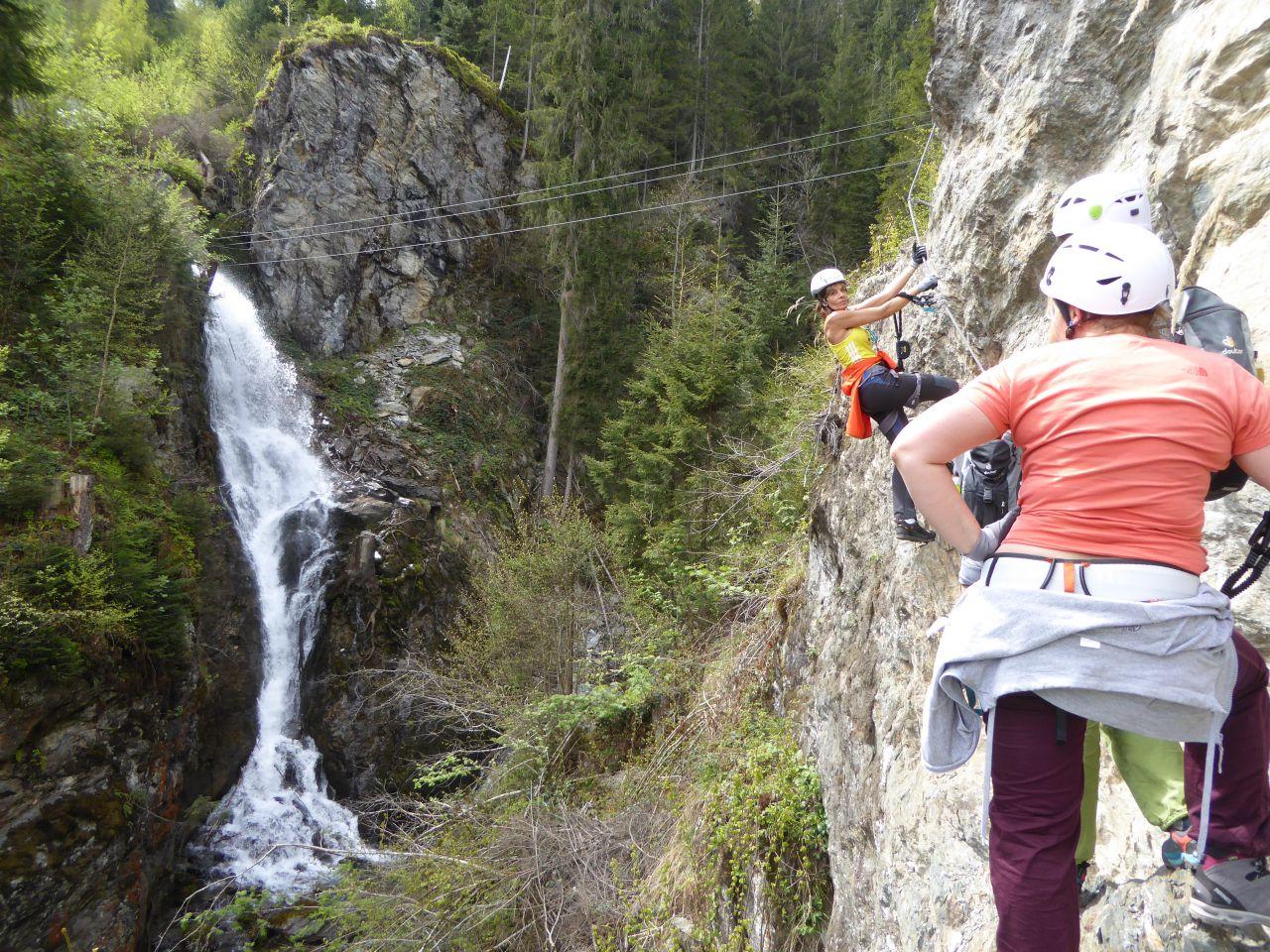 Klettersteig Zell Am See : Klettersteig reintaler see und talbach zell am ziller 22.4.2017