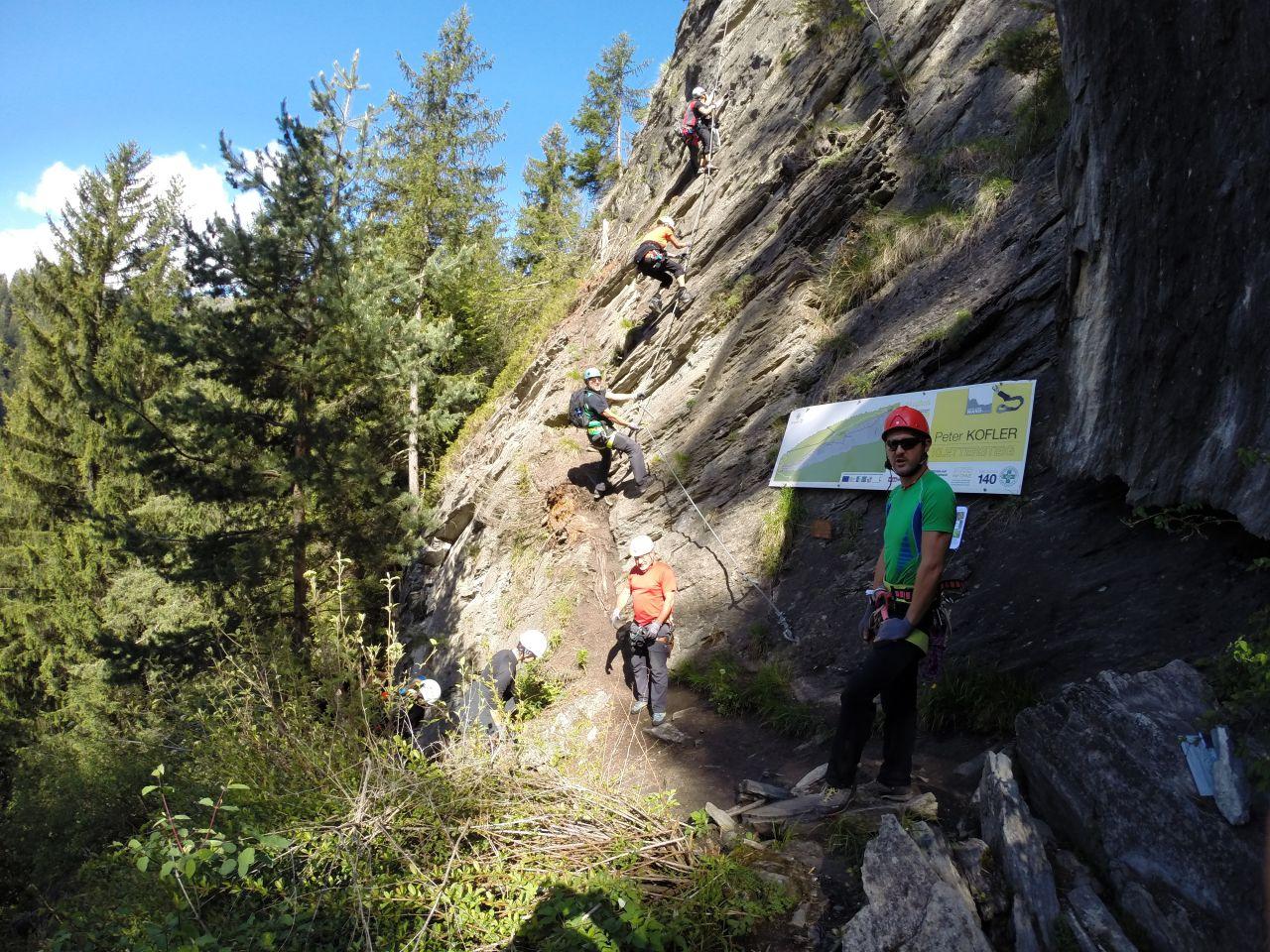 St Jodok Klettersteig : Klettersteig st jodok  alpenverein