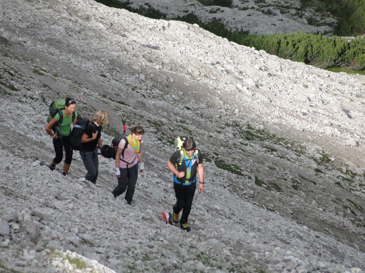 Klettersteig Wankspitze : Klettersteig wankspitze  alpenverein