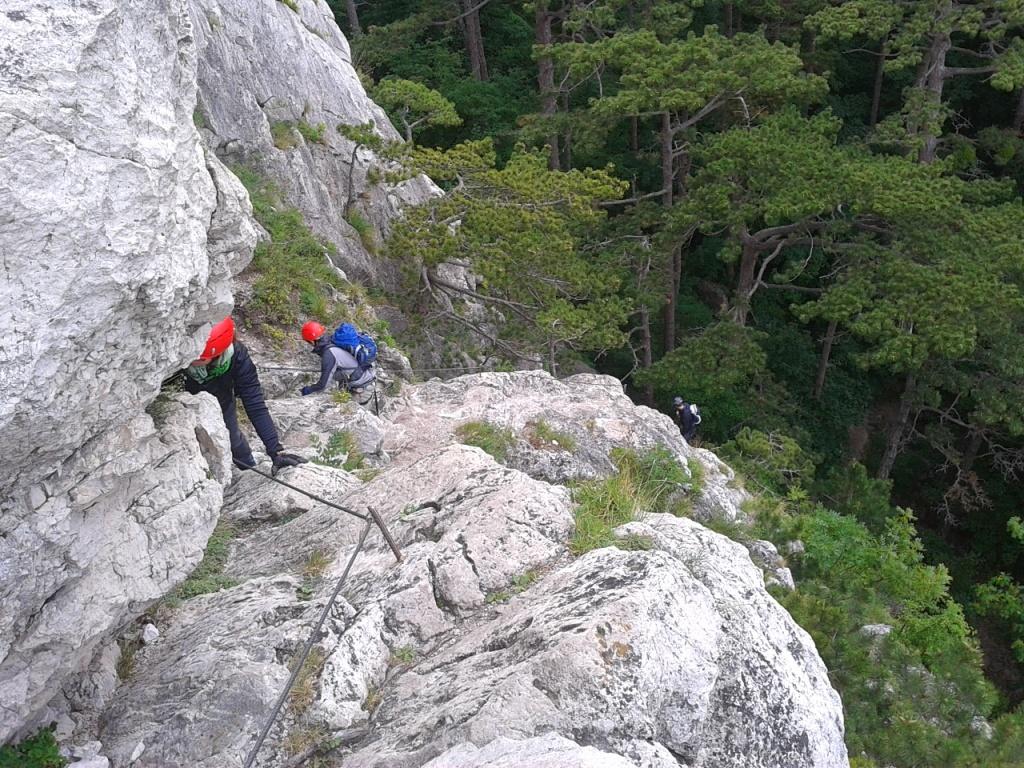 Klettersteig Mödling : Mödlinger klettersteig alpenverein