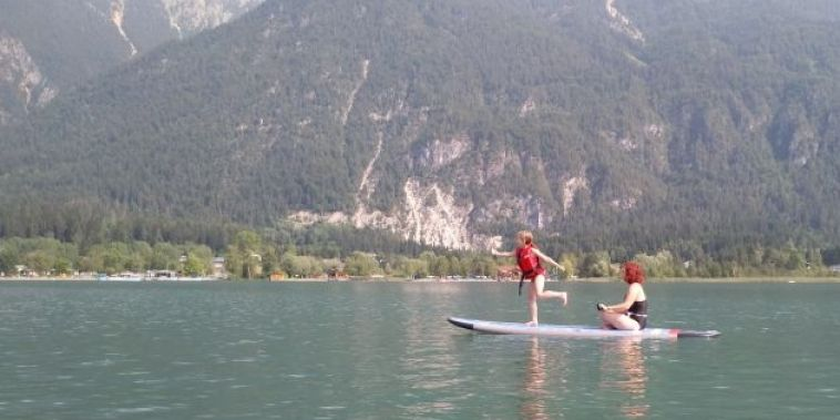 SUP am Presseggersee am 25. Juli 2019