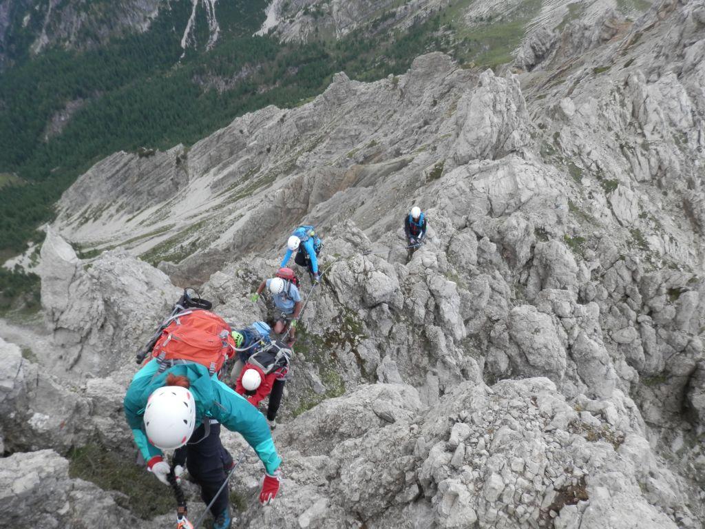 Klettersteig Verborgene Welt : 2017 07 15 klettersteige lienzer dolomiten alpenverein