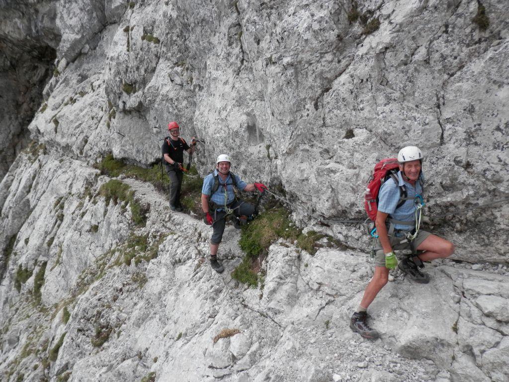Klettersteig Lärchenturm : Klettersteig lärchenturm tour
