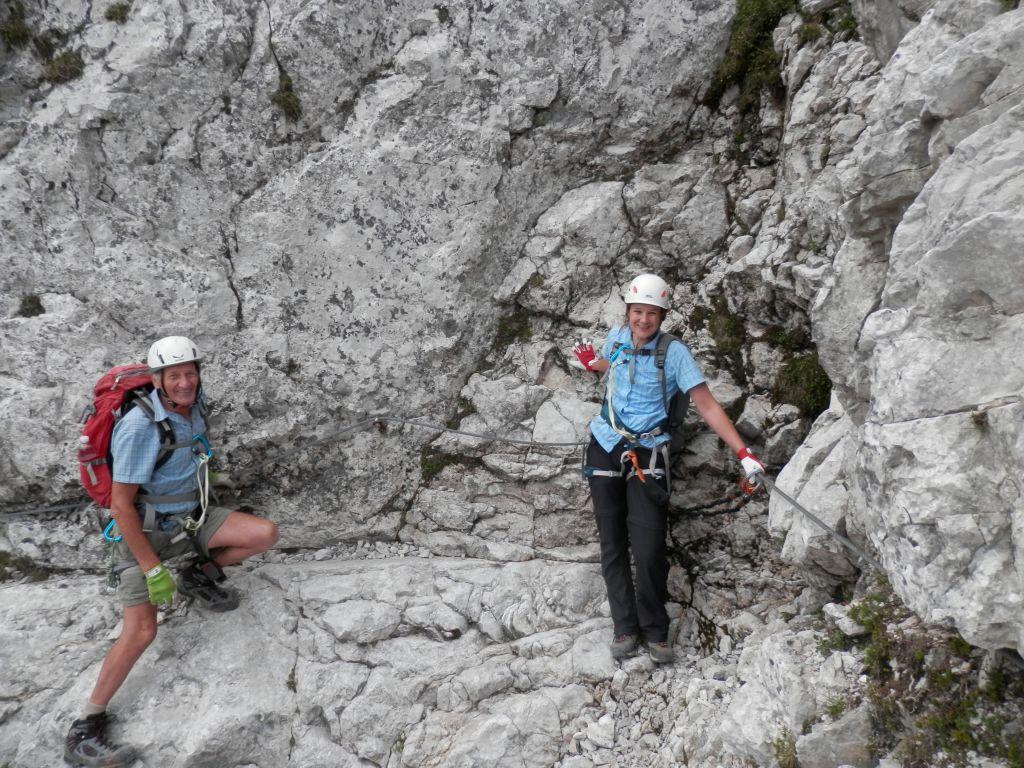 Klettersteig Lärchenturm : Lärchenturm klettersteig