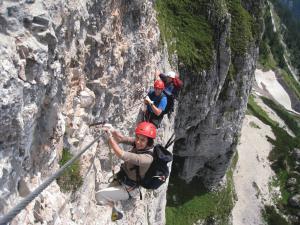 Klettersteig Wachau : Klettersteige klettern fels eis alpenverein