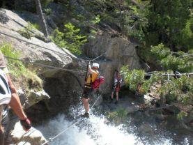 Klettersteig Stuibenfall : Klettersteig stuibenfall am sonntag juni alpenverein