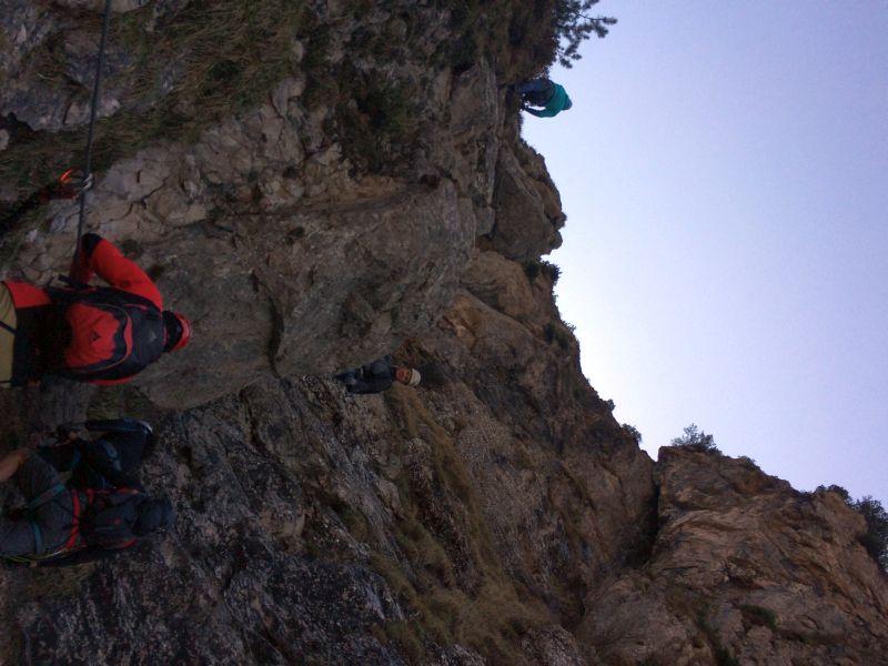 Klettersteig Ottenalm : Klettersteig im kaiserwinkel am sonntag april alpenverein