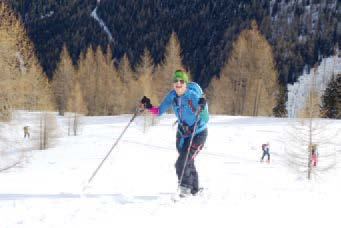 'Easy Going Skitour Oisternig'