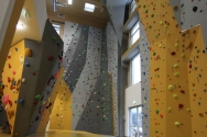 Indoor Kletterwand