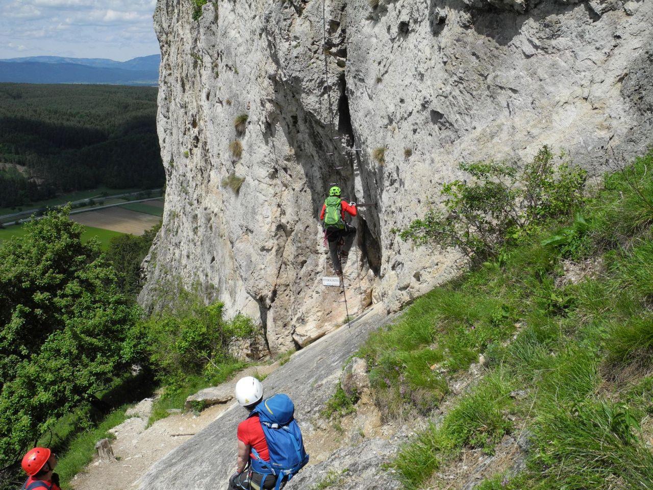 Pittentaler Klettersteig : Pittentaler klettersteig petra b fritz flickr