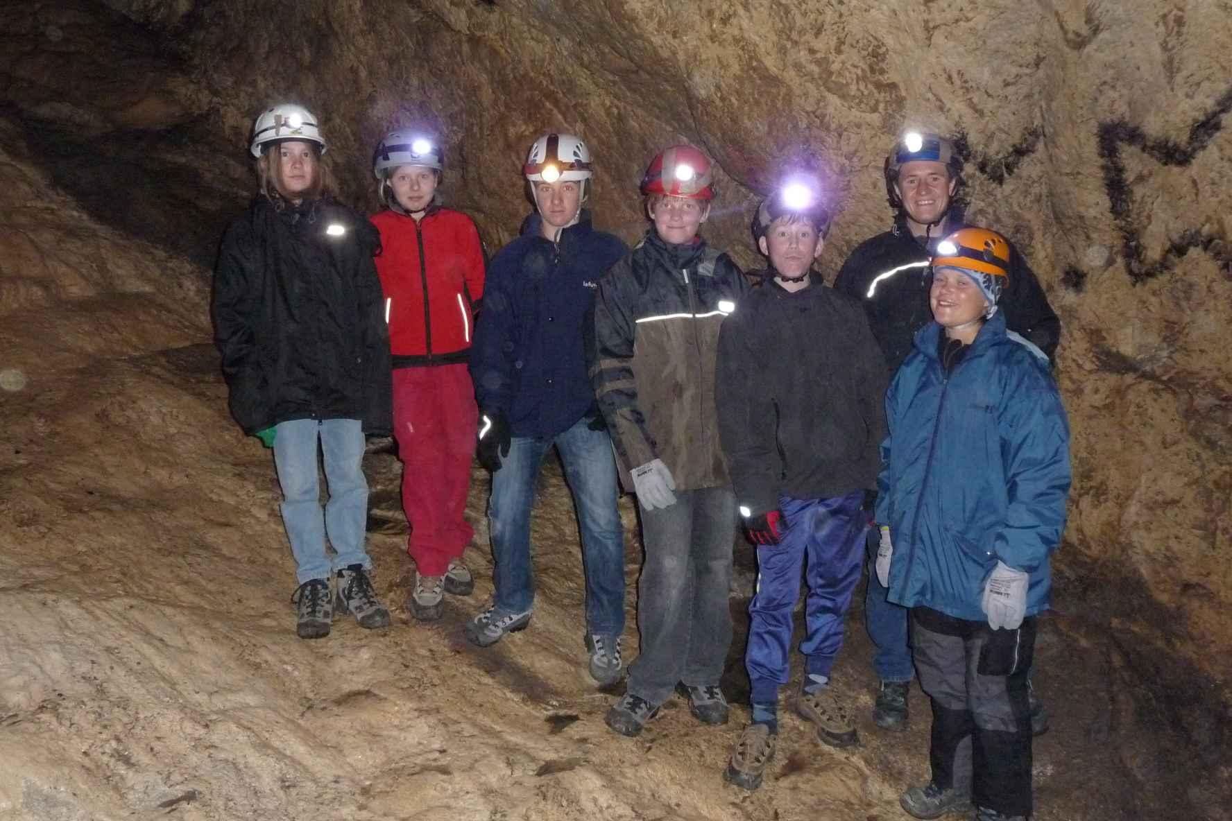 lampen für höhlenforscher