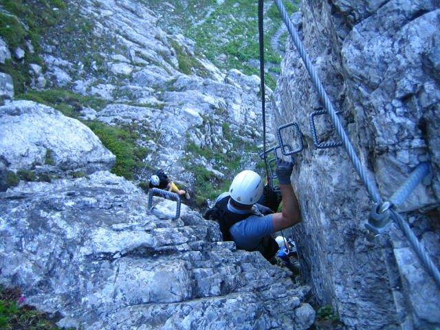 Klettersteig Gerlossteinwand : Gerlossteinwand klettersteig zillertal tirol