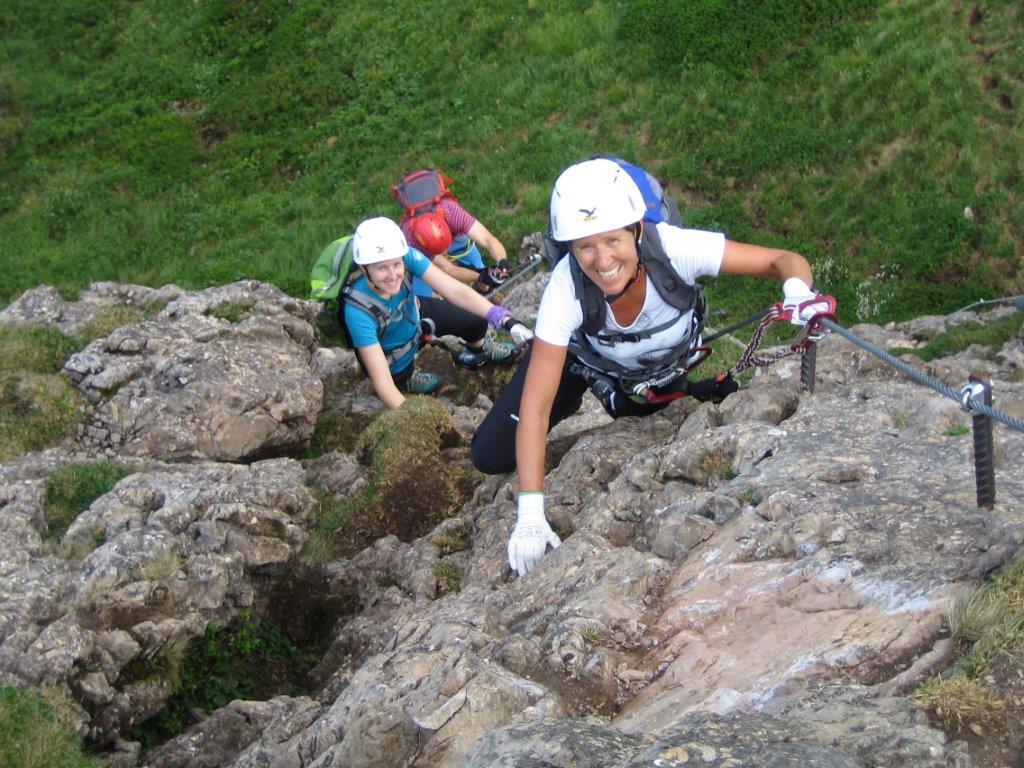 Klettersteig Kitzbühel : Klettersteig kitzbühler horn alpenverein