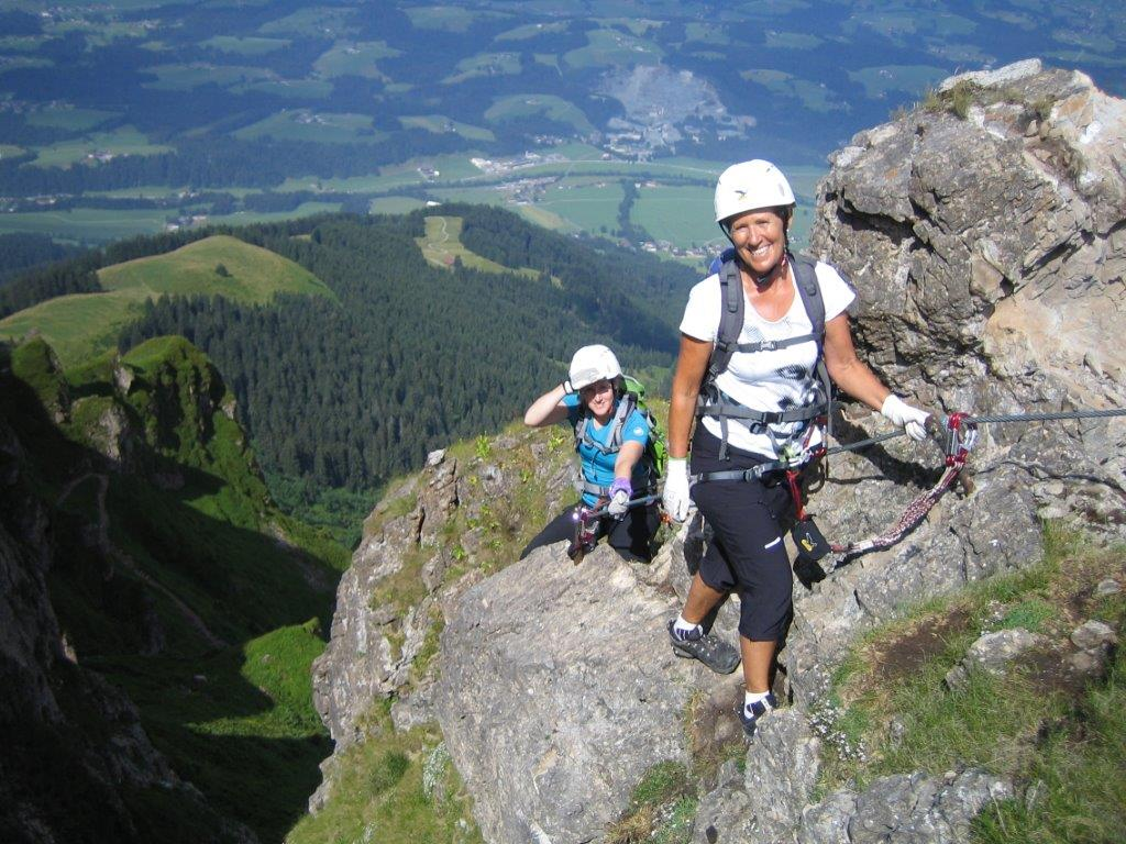 Klettersteig Kitzbüheler Horn : Klettersteig kitzbühler horn alpenverein