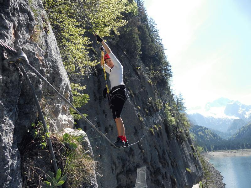 Klettersteig Gosau : Klettersteig einsteigertour in gosau 07. mai 2011 alpenverein