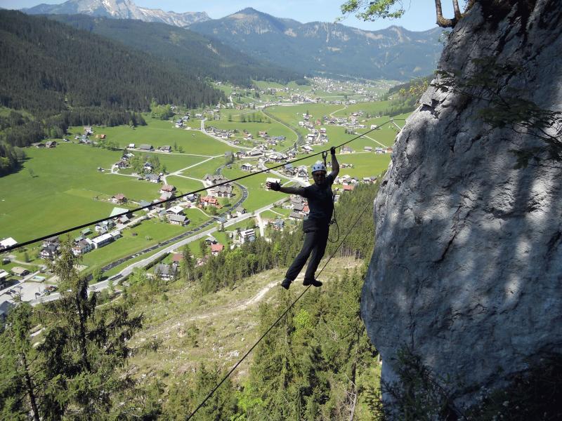 Klettersteig Gosau : Klettersteig einsteigertour in gosau mai alpenverein